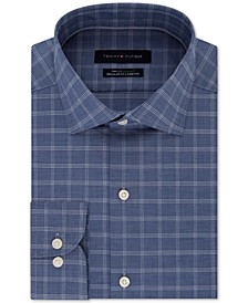 Men's Classic-Fit Flex Supima Check Dress Shirt