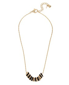 Robert Lee Morris Soho Mixed Beaded Frontal Necklace