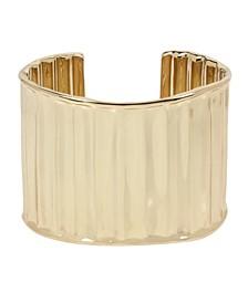 Textured Wide Cuff Bracelet
