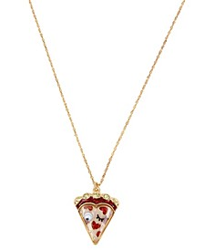 Pizza Pendant Necklace