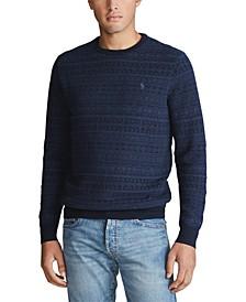 Men's Merino Wool Long Sleeve Sweater