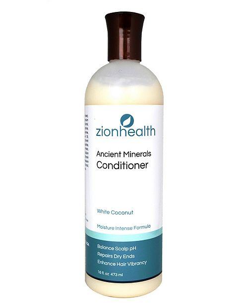 Zion Health White Coconut Conditioner, 16 oz