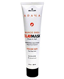 Zion Health Clay Mask Mango Face Mask, 4 oz