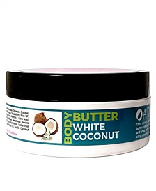 Body Butter Argan White Coconut, 4 oz