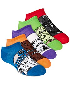 Little & Big Boys 5-Pk. No-Show Socks