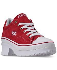 Skechers Women's Street Cleats 2 - Heartbeats Casual Sneakers from Finish Line