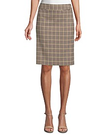 Tahari ASL Printed Pencil Skirt