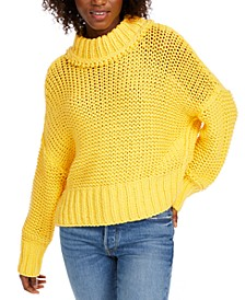 My Only Sunshine Cowl-Neck Sweater
