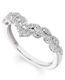 Diamond (1/3 ct. t.w.) Band in 14K White Gold