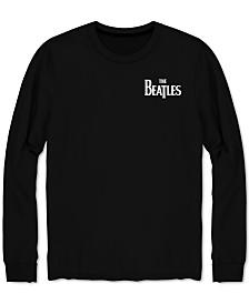 Beatles Men's Long-Sleeve Let It Be Band T-Shirt