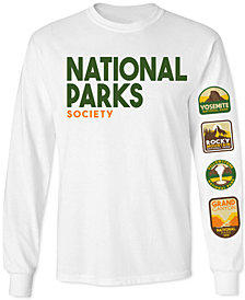 National Parks Long-Sleeve Men's Graphic T-Shirt