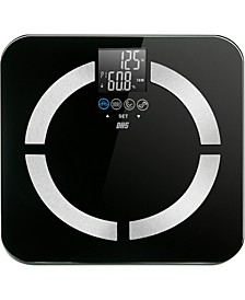 Optima Home Scale Contour BMI Bathroom Scale