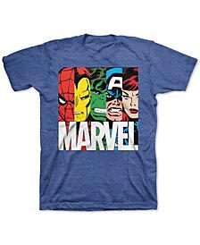 Marvel Big Boys Avengers Hero Group T-Shirt