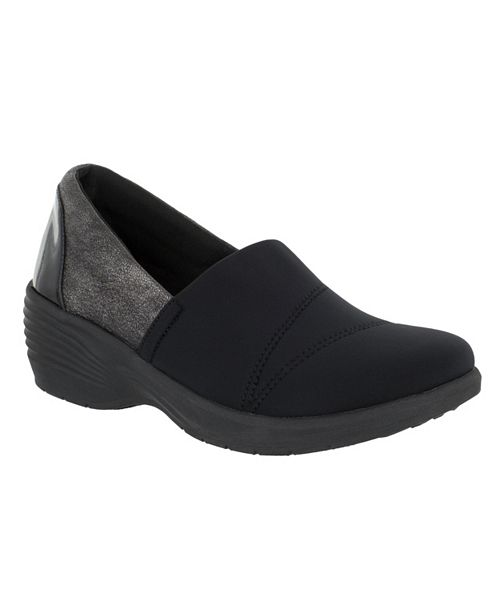 Easy Street So Lite Solo Slip On Wedges