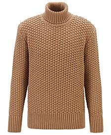 BOSS Men's T-Buti Wool-Blend Roll-Neck Sweater