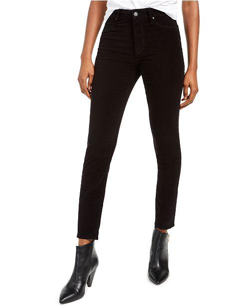 Articles of Society Hilary Velvet High-Rise Jeans