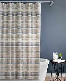 "Darian 72"" x 84"" Extra Long Shower Curtain"