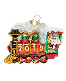 All Aboard! 2019 Ornament