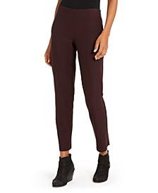 Pull-On Slim-Fit Pants