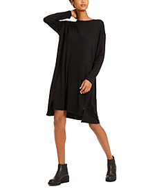 Long-Sleeve Dress, Regular & Petite