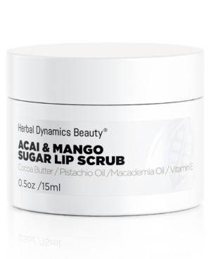 Herbal Dynamics Beauty Acai and Mango Sugar Lip Scrub