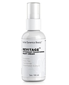 Revitage Antioxidant Transforming Night Cream