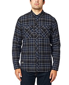 Men's Cotton Long Sleeve Flannel