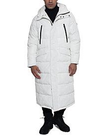 Sean John Men's Full-Length Hooded Puffer Jacket
