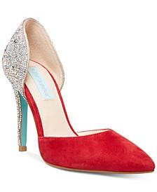 Yara Embellished Evening Shoes