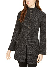 Cable-Knit Sweater Coat, Created for Macy's