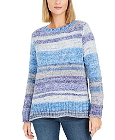Chenille Space-Dyed Sweater, Created for Macy's