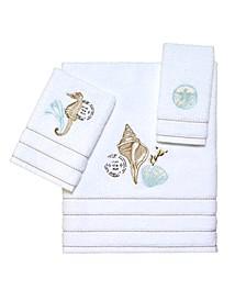 Farmhouse Shell Bath Towel Collection