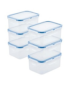 Easy Essentials Rectangular 20-Oz. Food Storage Container, Set of 6