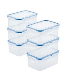 Lock n Lock Easy Essentials™ Rectangular 20-Oz. Food Storage Container, Set of 6