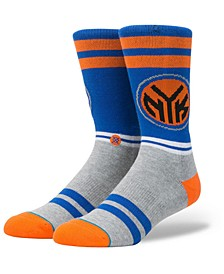 New York Knicks City Gym Crew Socks