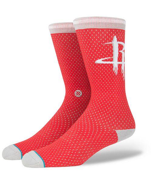 Stance Houston Rockets Arena Jersey Pack Crew Socks