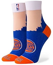 Women's New York Knicks Monofilament Anklet Socks