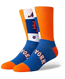 New York Mets Pop Fly Crew Socks
