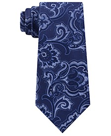 Men's Intricate Outlined Paisley Tie