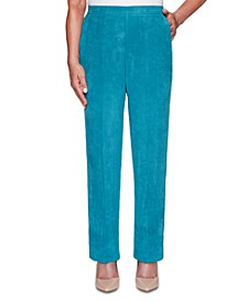 Walnut Grove Faux-Suede Pants