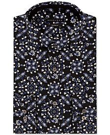 Sean John Men's Classic-Fit Graphic Dress Shirt