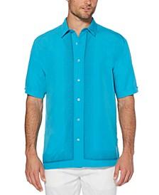 Men's Regular-Fit Ombré Geometric Shirt