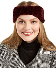 Solid Faux Fur Headband