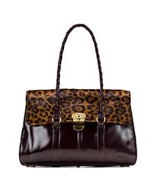 Leopard Vienna Satchel