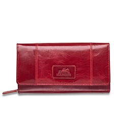 Casablanca Collection RFID Secure Ladies Clutch Wallet