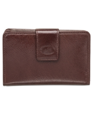 Equestrian-2 Collection Rfid Secure Medium Clutch Wallet