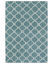 Cozy Toes CTC10-78 Turquoise 5' x 7' Area Rug