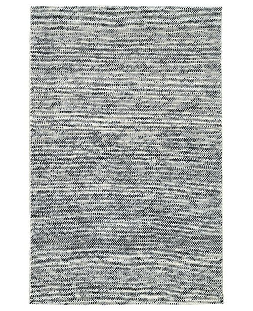 "Kaleen Cord CRD01-75 Gray 5' x 7'6"" Area Rug"