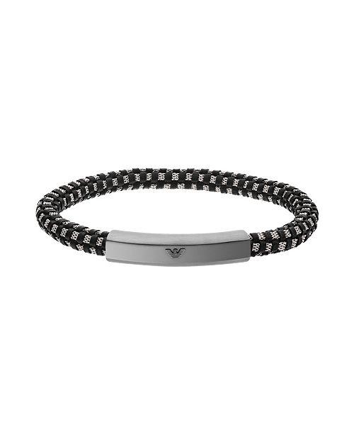 Armani Emporio Men's Stainless Steel ID Bracelet