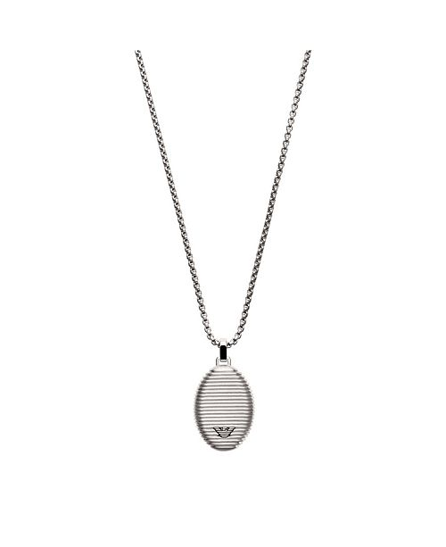 Armani Emporio Men's Stainless Steel Pendent Necklace